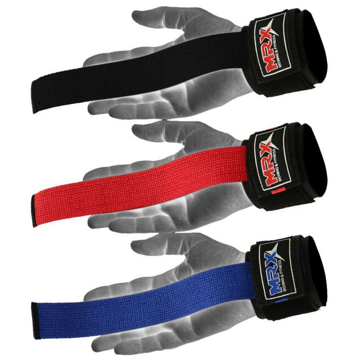 Weight Lifting Gym Straps Bodybuilding Power Lifting Hooks Wrist Support Bar New