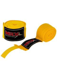 MRX KICKBOXING HAND WRAPS YELLOW