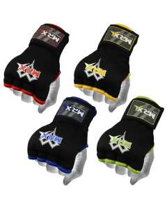 MRX BOXING HAND WRAPS INNER GLOVES MUAY THAI MMA TRAINING MITTS UNISEX