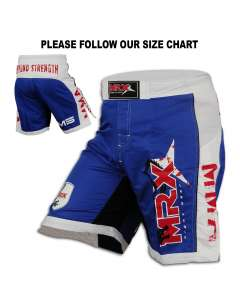 MRX Men's Mma Fighting Shorts Grappling Fight Short 1105
