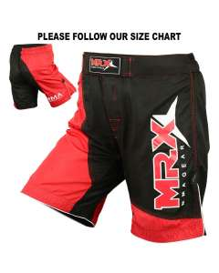 MRX MEN'S MMA GRAPPLING FIGHT SHORTS UFC FIGHTING SHORT 1110