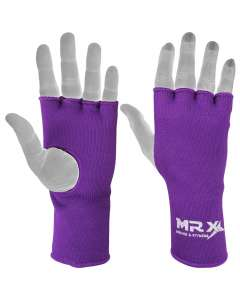 MRX Muay Thai Inner Gloves Purple