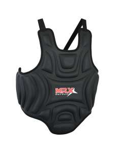 Mma Chest Guard Protector Body Armor Pad Mrx Boxing Training Sports Black