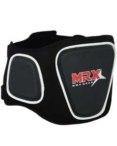 MRX BELLY PAD PROTECTOR BODY ARMOUR ABDOMINAL GUARDS MMA BOXING UFC BLACK GUARD