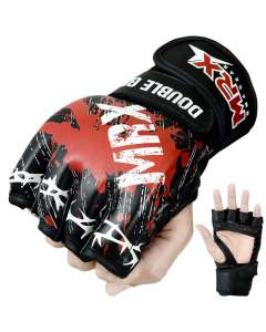 MRX Mma Grappling Gloves Blood Series Black
