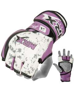 mma gloves purple 2552