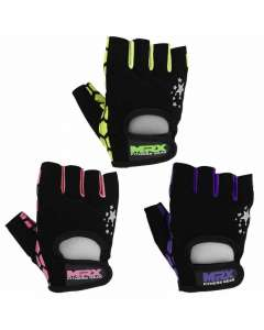 New MRX Women Weight Lifting Gloves GYM Workout Star Series All Sizes