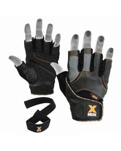 MRX Men's Weight Lifting Gloves With Bar Straps 2619-bo-l