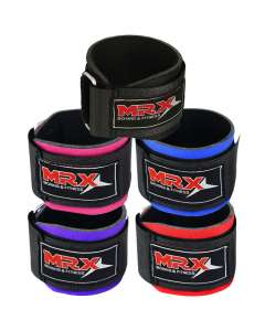 MRX WEIGHT LIFTING WRIST WRAPS FOR WRIST SUPPORT DURING BODYBUILDING WORKOUT GYM TRAINING STRAPS