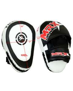 MRX Focus Pad Mitts Boxing Mma Kickboxing Punching Pads Adult Unisex