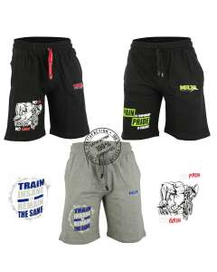 MRX Men's Gym Shorts Cotton Fitness Sports Gear Active Short New Styles