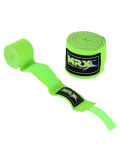 New MRX Boxing Hand Wraps Kickboxing Green