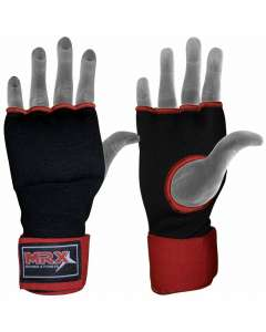 Inner Gloves Gel Pad With Wraps Black