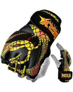 MRX Mma Grappling Gloves Snake Series