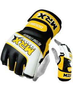 MRX Mma Grappling Gloves Yellow Black