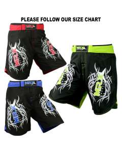 MRX MEN'S MMA FIGHT SHORTS UFC GRAPPLING FIGHTING SHORT