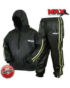 MRX Mens Sauna Sweat Suit Weight Loss Slimming Gym Training Boxing MMA