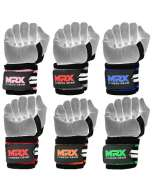 MRX Power Weightlifting Wrist Wraps Premium Quality Bodybuilding Gym Workout Straps